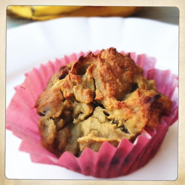 Dark Chocolate Banana Bread Protein Muffins {healthy, Guilt-free, Gluten-free, And Protein