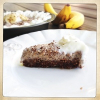 No-Bake Banana Chia Pudding Pie {healthy, guilt-free and gluten-free}